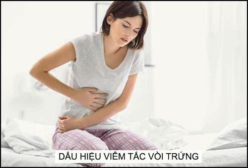 Dau Hieu Viem Tac Voi Trung