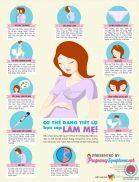 Các dấu hiệu nhận biết có thai sớm nhất trong tuần đầu tiên