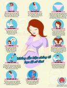 Triệu chứng khi mới mang thai