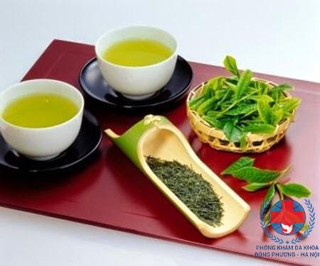 Tác dụng của trà xanh trong chữa rụng tóc