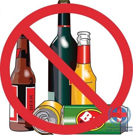 Cách điều trị dị ứng nổi mề đay sau khi uống rượu bia