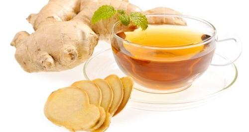 Đau bụng kinh có nên uống trà gừng không