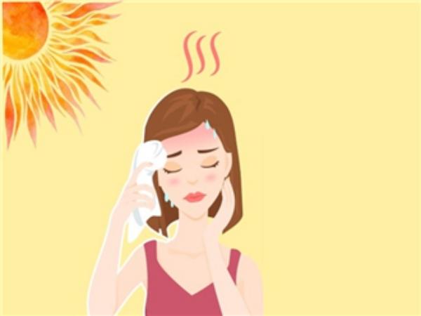 Các bệnh da liễu hay mắc vào mùa hè.
